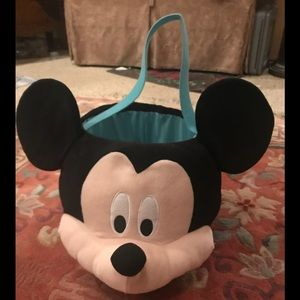 Rare Vintage Extra Large Mickey Mouse Basket